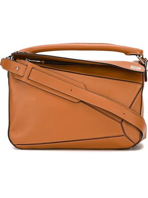 LOEWE Puzzle Medium Leather Shoulder Bag