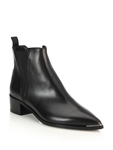 ACNE STUDIOS Jensen Pointy-Toe Ankle Boot, Black at Saks Fifth Avenue