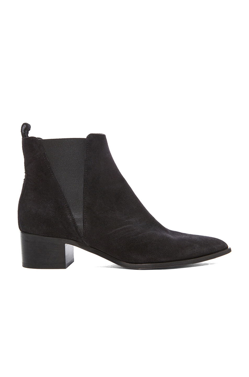 ACNE STUDIOS Jensen Pointy-Toe Ankle Boot, Black at FORWARD