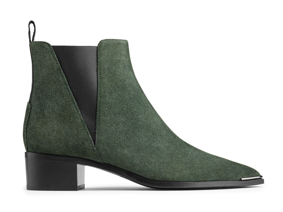 ACNE STUDIOS Jensen Pointy-Toe Ankle Boot, Black at Acne Studios