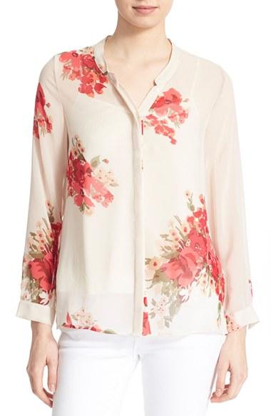 JOIE 'Devitri' Silk Shirt