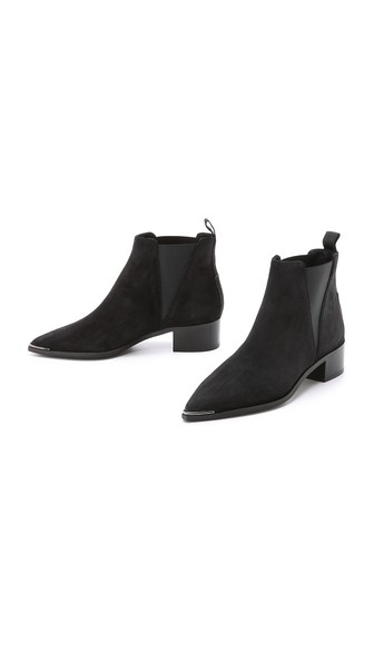 ACNE STUDIOS Jensen Pointy-Toe Ankle Boot, Black at Shopbop