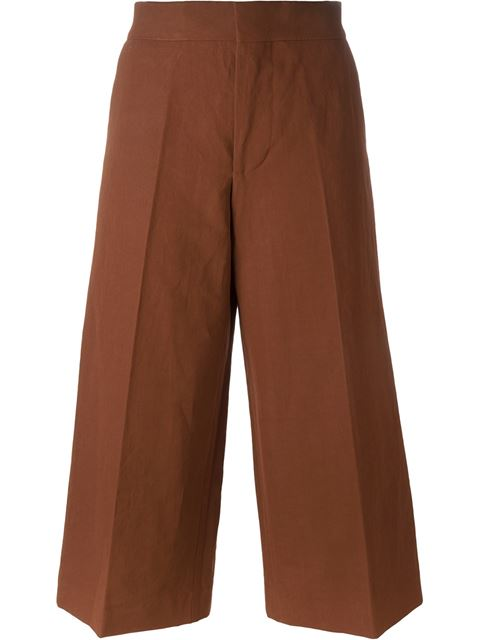 MARNI Classic Culottes at Farfetch
