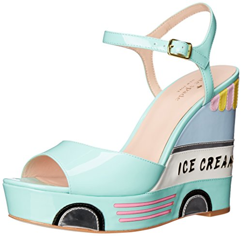 KATE SPADE 'Dotty' Wedge Sandal (Women) at Amazon.com