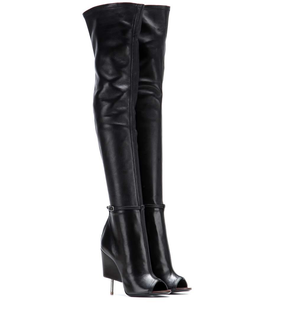 GIVENCHY 115Mm Narlia Stretch Nappa Leather Boots, Black at mytheresa.com