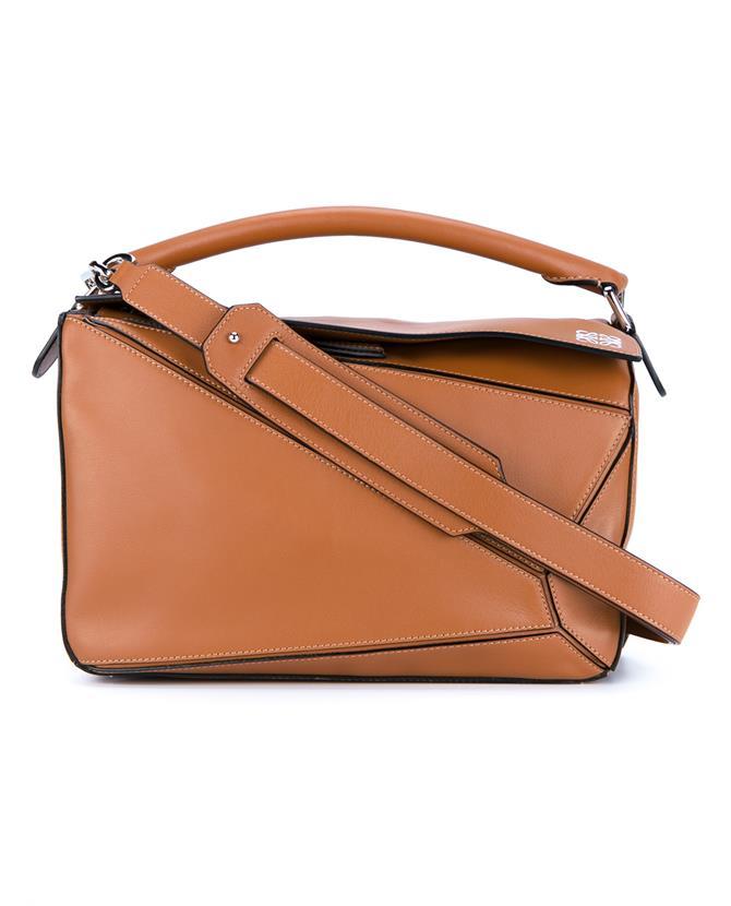 LOEWE Puzzle Medium Leather Shoulder Bag at Browns Fashion