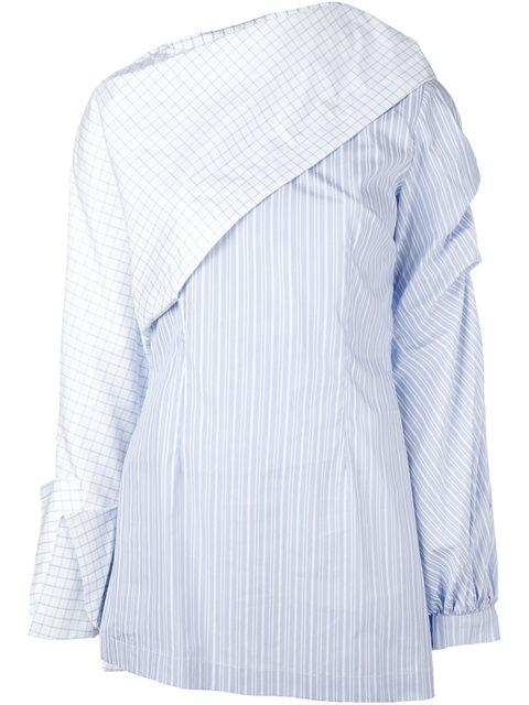 JACQUEMUS 'La Chemise Cape' Shirt at Farfetch