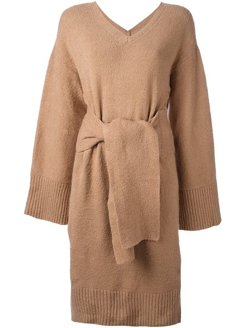 3.1 PHILLIP LIM Belted Knit Dress at Farfetch
