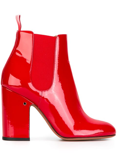 LAURENCE DACADE Chunky Heel Chelsea Boots at Farfetch