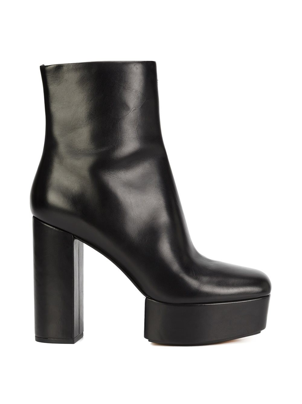 ALEXANDER WANG Cora Leather Platform Ankle Boots at THE WEBSTER