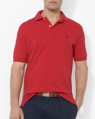 POLO RALPH LAUREN Stretch Mesh Classic Fit Polo Shirt at Bloomingdale's