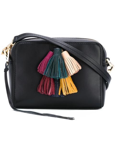 REBECCA MINKOFF Sofia Mini Tassel Crossbody Bag, Black/Multi at Farfetch