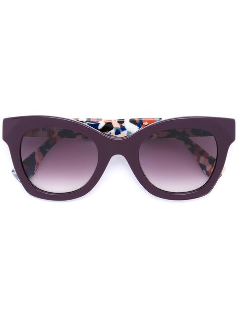 FENDI Granite Print Sunglasses at Farfetch