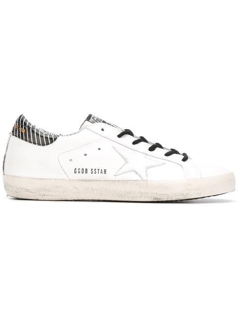 GOLDEN GOOSE Leather Superstar Low Sneakers
