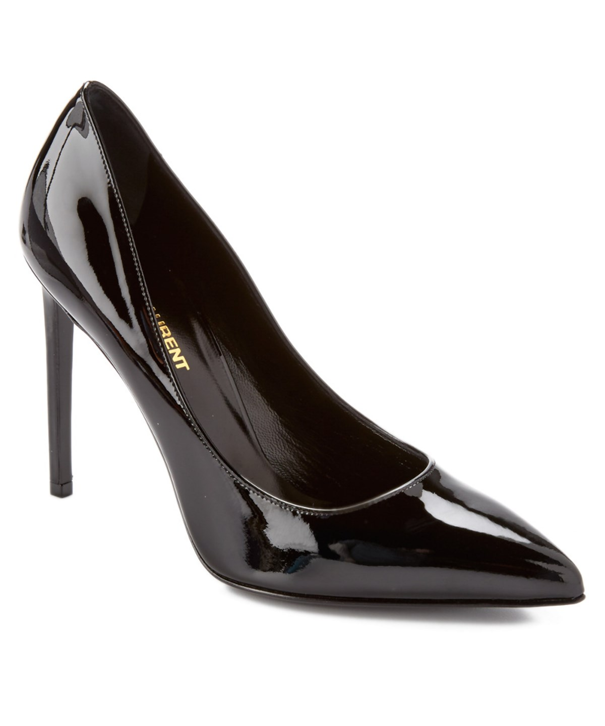SAINT LAURENT Patent Leather 'Paris Skinny' Pumps at Bluefly