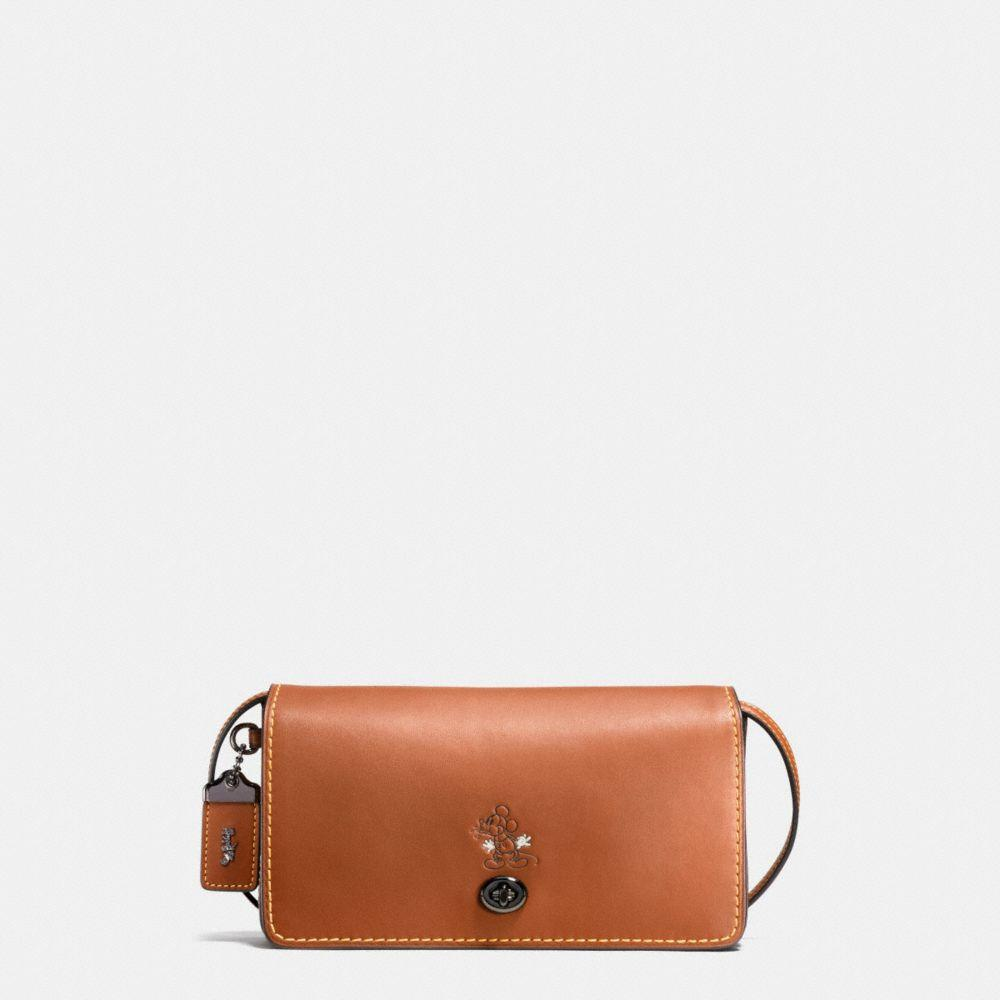 COACH Mickey Dinky Crossbody In Glovetanned Leather