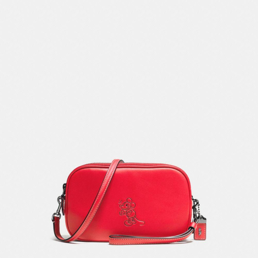 COACH Mickey Crossbody Clutch In Glovetanned Leather