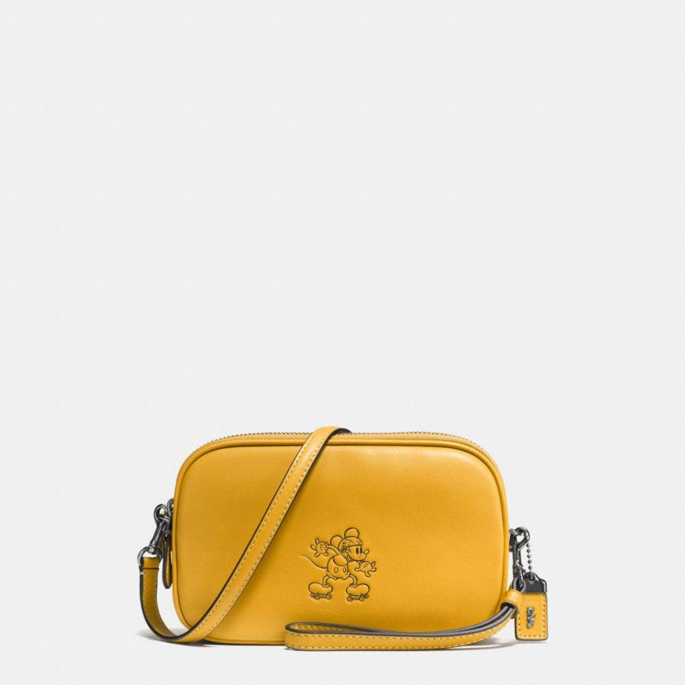 COACH Mickey Crossbody Clutch In Glovetanned Leather