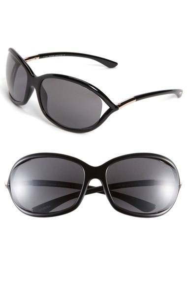TOM FORD 'Jennifer' 61Mm Polarized Sunglasses