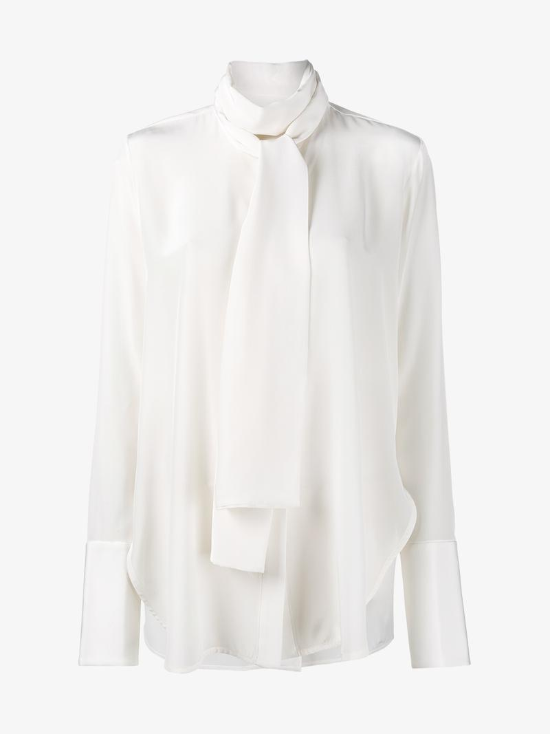 ELLERY Pussy Bow Blouse at Browns Fashion