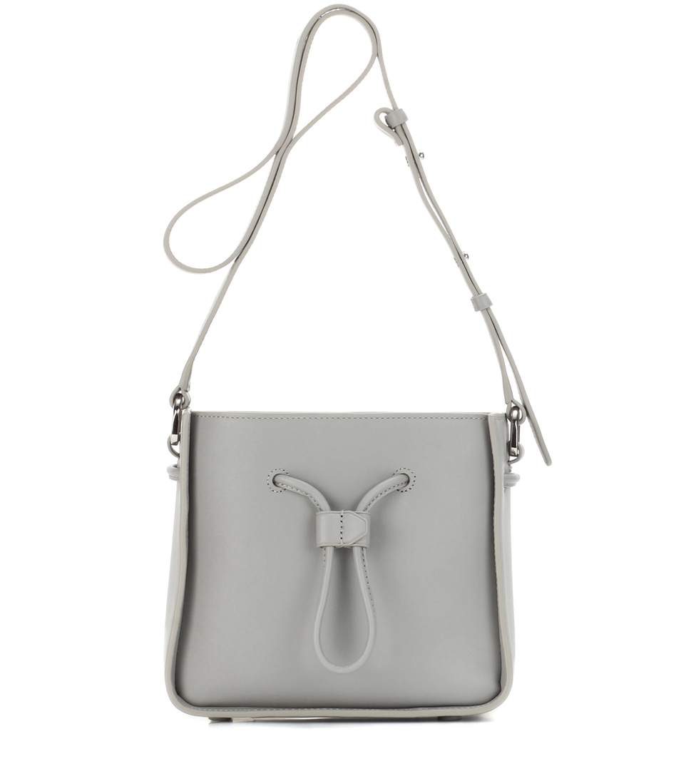 3.1 PHILLIP LIM Soleil Mini Leather Drawstring Bucket Bag at mytheresa.com