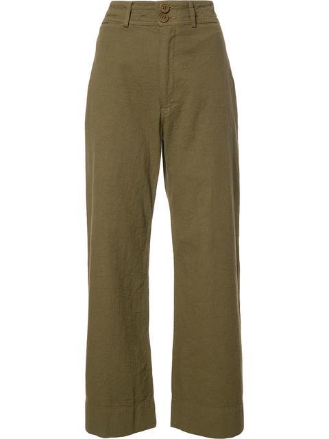 APIECE APART Wide Leg Pants