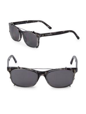 BURBERRY 55MM Square Sunglasses