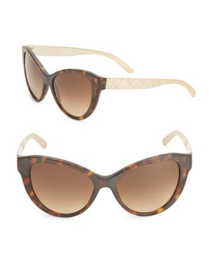 BURBERRY 56MM Cat's Eye Sunglasses