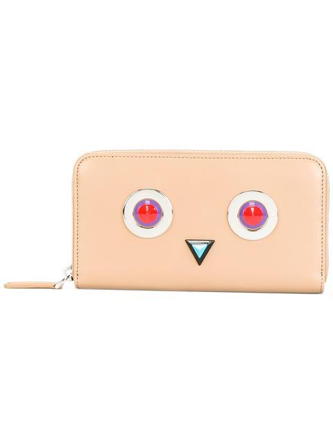 FENDI Square Eyes Wallet