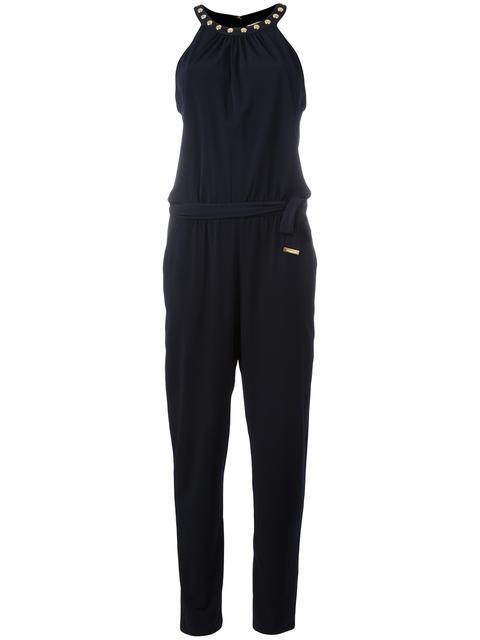 MICHAEL KORS Studded Collar Jumpsuit