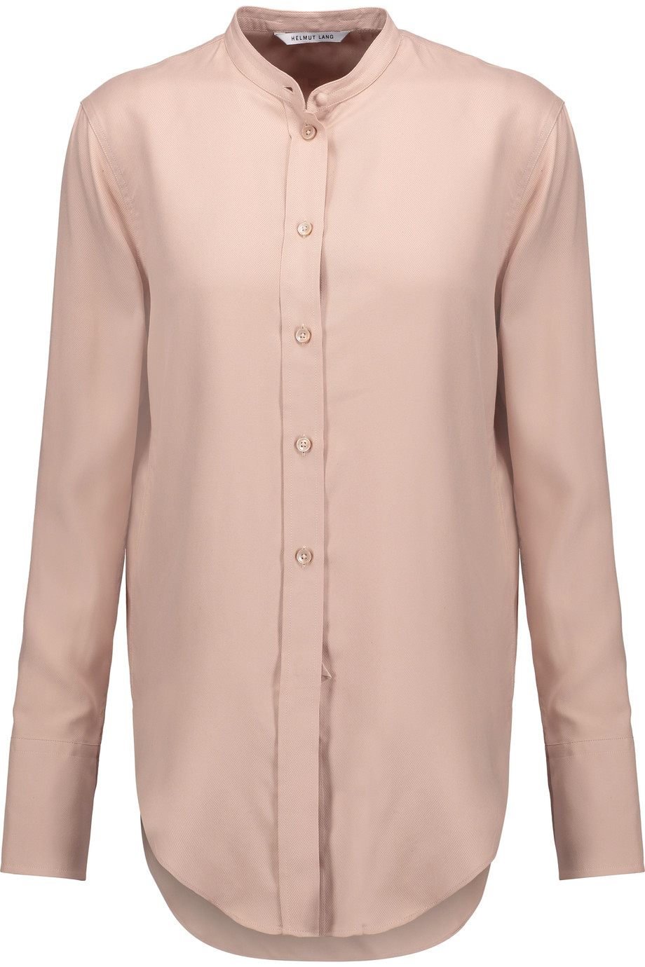 HELMUT LANG Washed-Silk Shirt at THE OUTNET.COM