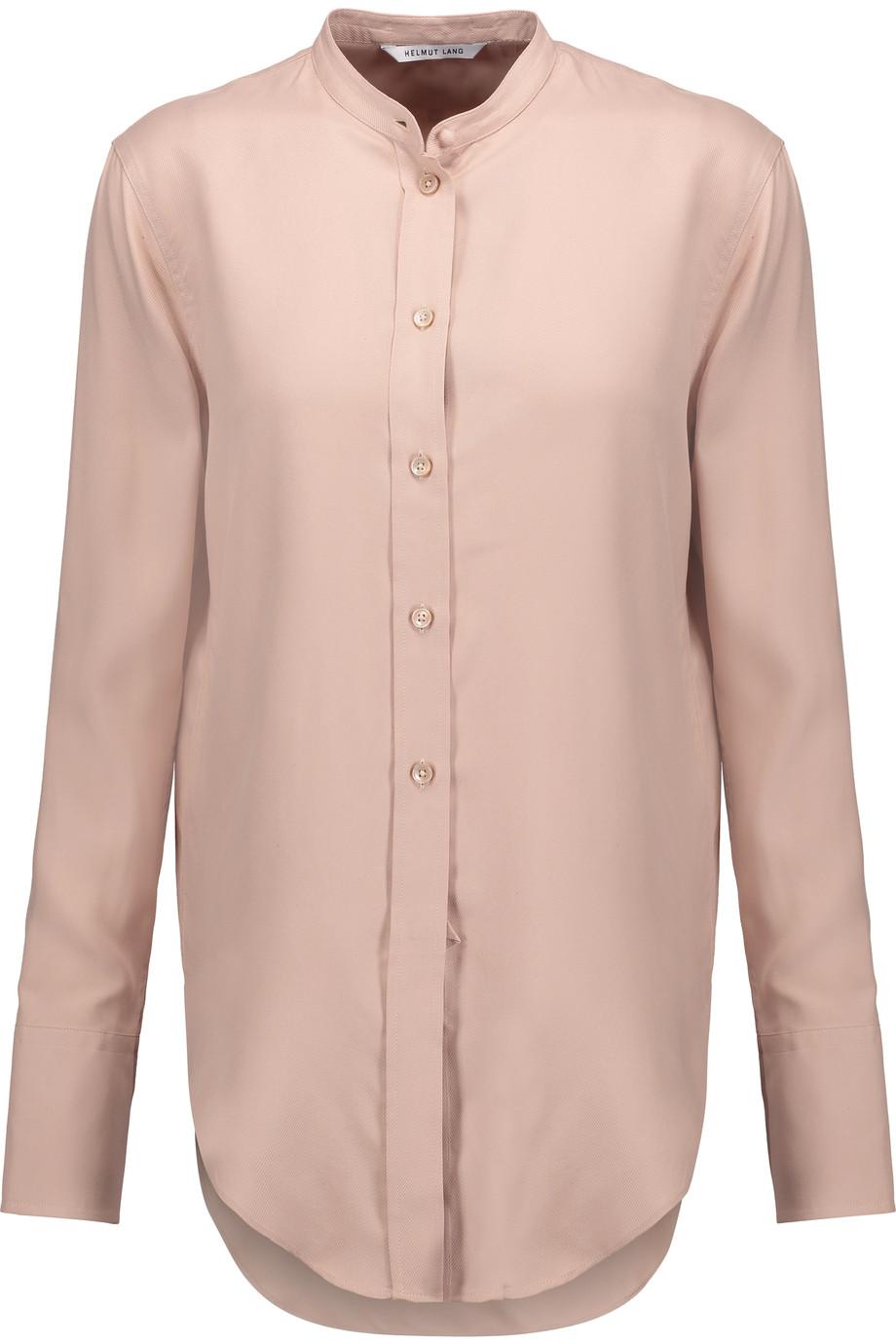 HELMUT LANG Washed-Silk Shirt