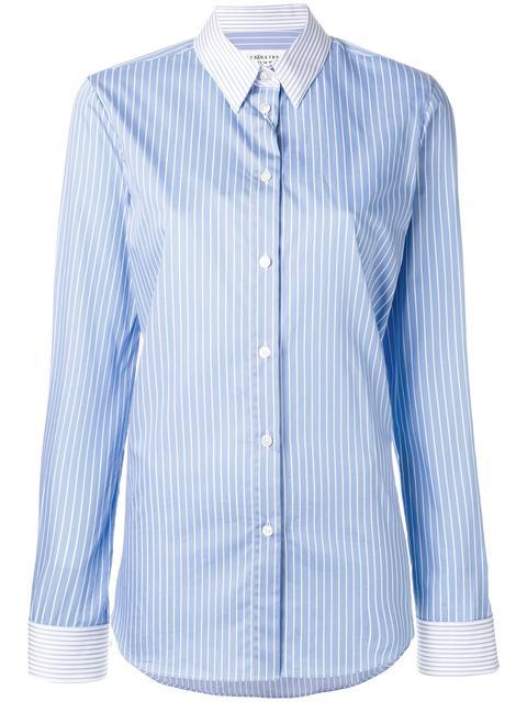 MAISON MARTIN MARGIELA Contrast Pinstripe Shirt