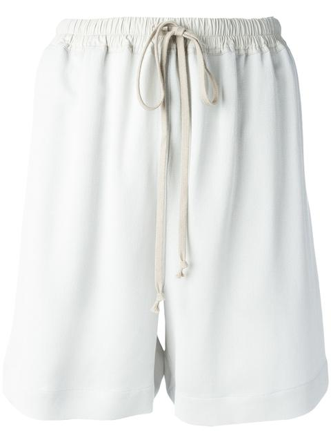 RICK OWENS Loose-Fit Shorts at Farfetch