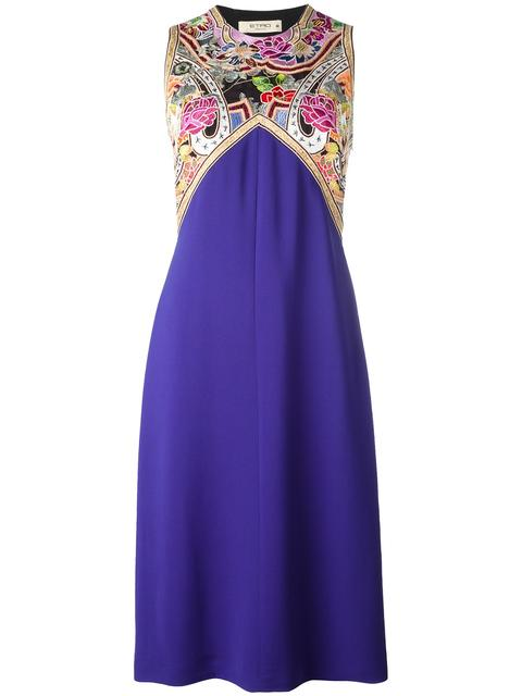 ETRO Embroidered Trim Dress