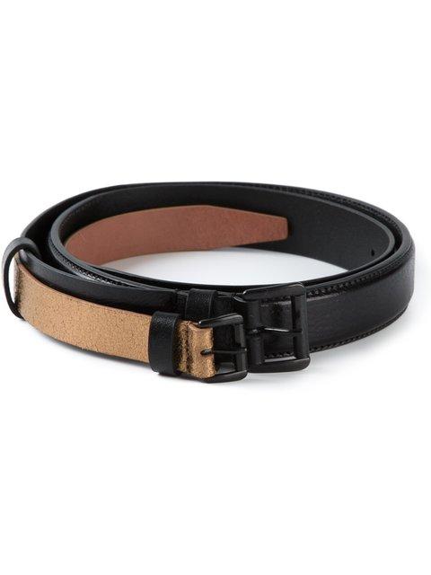 ANN DEMEULEMEESTER Double Layered Belt