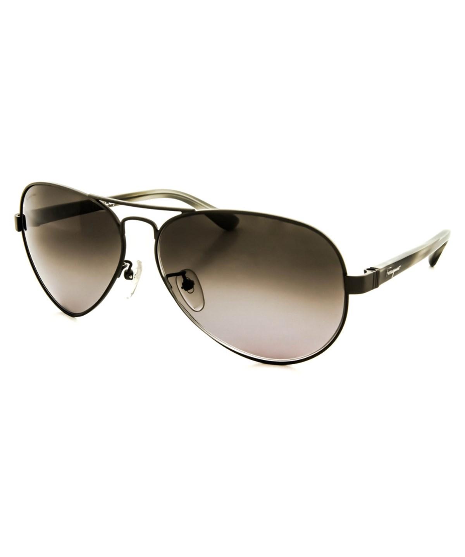 SALVATORE FERRAGAMO Men'S Sf123Sa Sunglasses' in Gunmetal