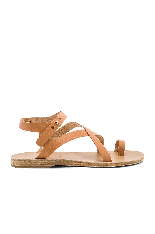 VALIA GABRIEL Arica Sandal in Light Tan