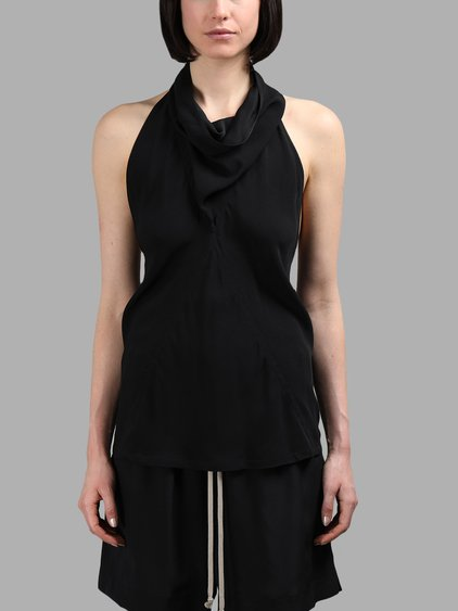 RICK OWENS Naska Halter Top at Antonioli