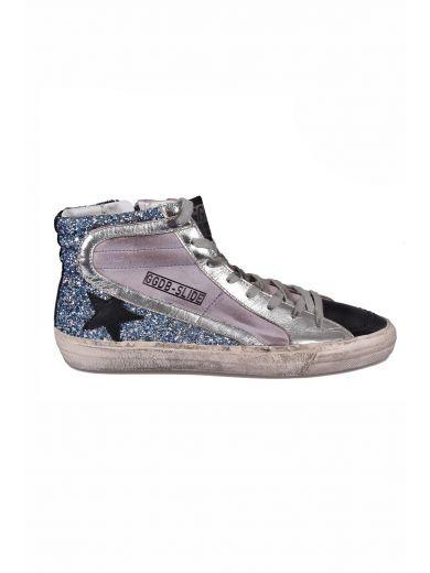 GOLDEN GOOSE Multicolor Slide High-Top Sneakers at Italist.com