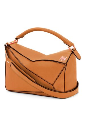 LOEWE Puzzle Medium Leather Shoulder Bag at Saks Fifth Avenue