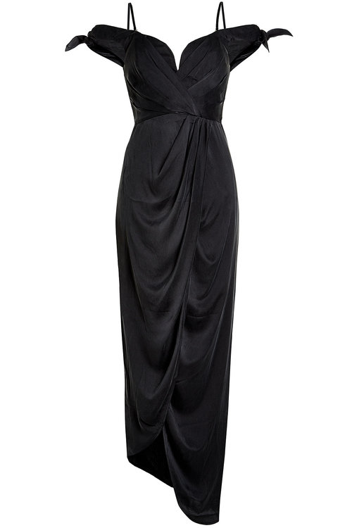 ZIMMERMANN Draped Silk Dress