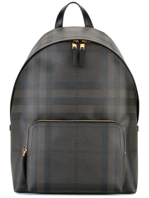 BURBERRY Housecheck Backpack in 4100B Navy Black