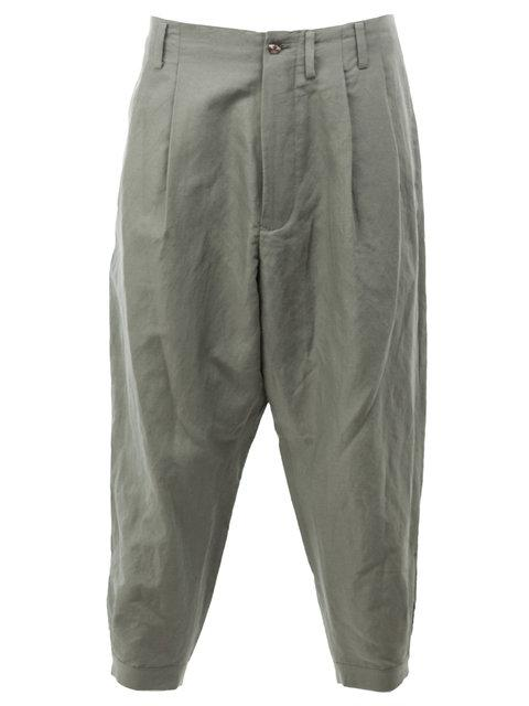 08SIRCUS Cropped Loose-Fit Trousers