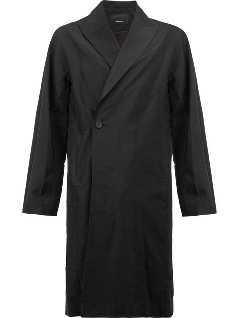 08SIRCUS Peaked Lapel Midi Coat at Farfetch