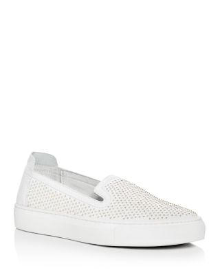 RACHEL ZOE Burke Studded Slip On Sneakers at Bloomingdale's