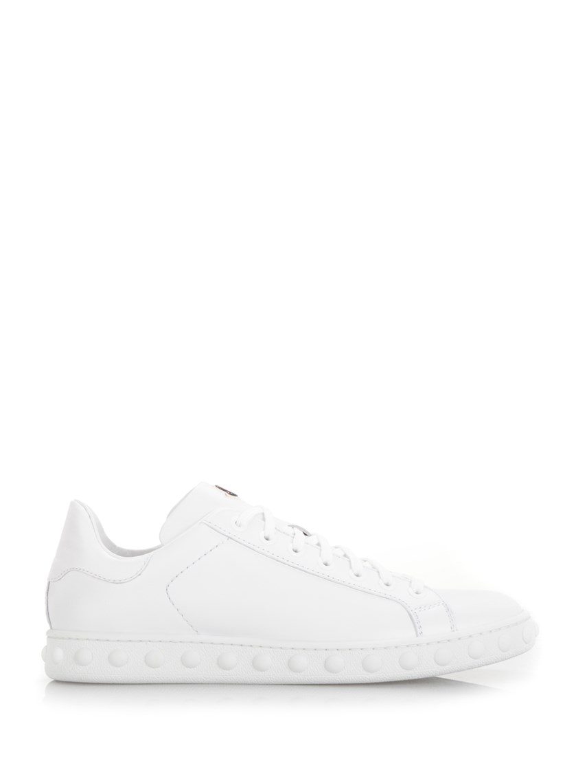 MONCLER Fifi Low-Top Leather Trainers at Al Duca d'Aosta