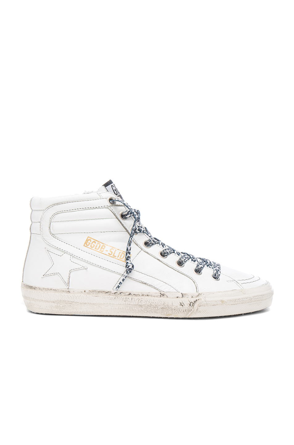 GOLDEN GOOSE Leather Slide Sneakers at FORWARD