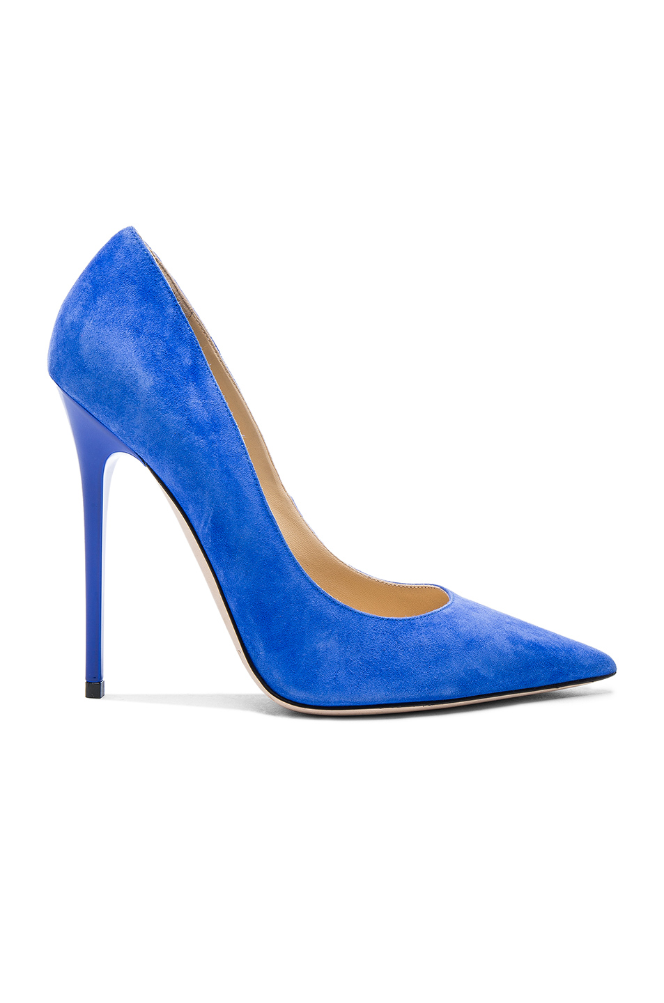 JIMMY CHOO Suede Anouk Pumps