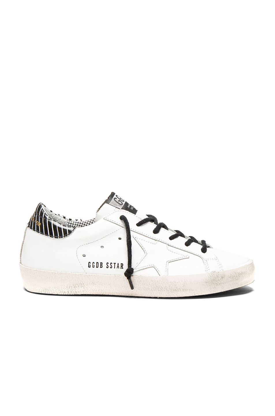 GOLDEN GOOSE Leather Superstar Low Sneakers at FORWARD